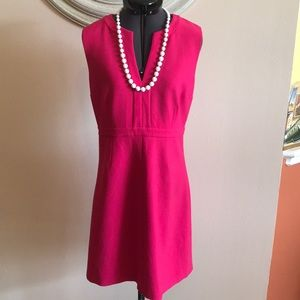 DVF Hot Pink Sheath Dress